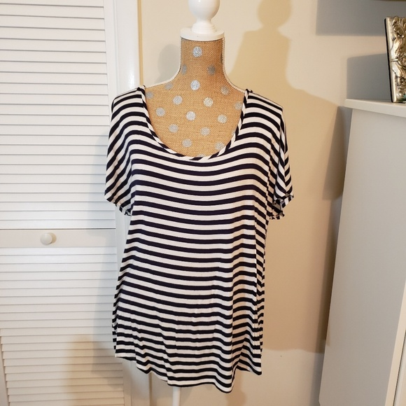 Maurices Tops - Navy striped Maurices top